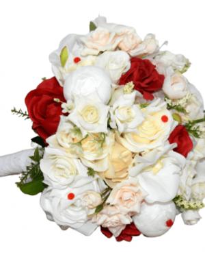Buchet flori de matase FEIS005