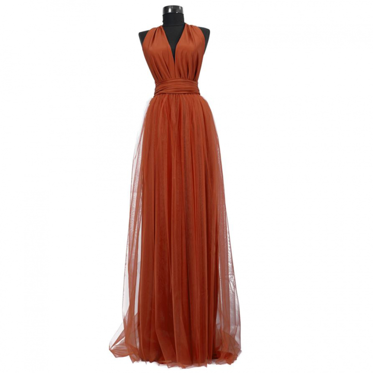 Rochie lunga cu tulle 23h Events 1