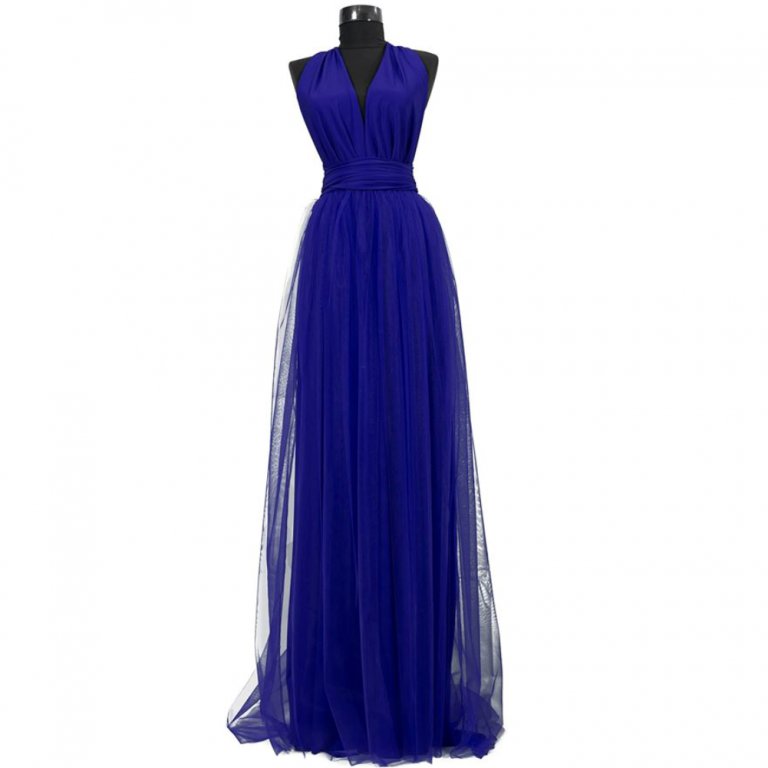 Rochie lunga cu tulle 23h Events 11