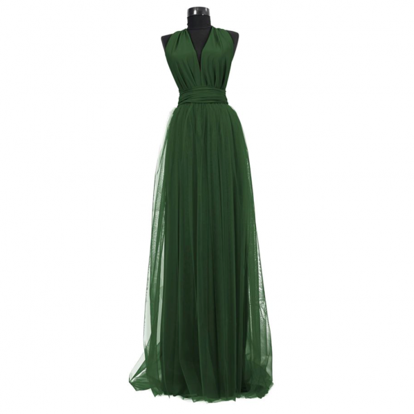 Rochie lunga cu tulle 23h Events 5