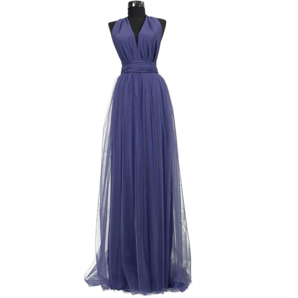 Rochie lunga cu tulle 23h Events 9