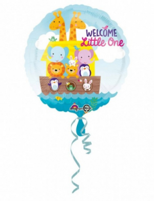 Balon folie 45 cm Animalute Welcome Little One FTB049