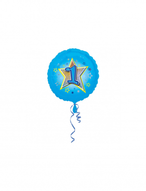 Balon folie 45 cm Blue Stars 1 AN FTB039