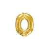 balon folie aurie litera o 86 cm