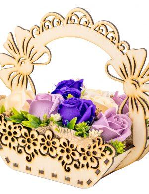 Aranjament cu flori de sapun in cos – OMIS01242