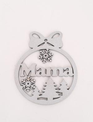 Glob Mama argintiu – OMIS01268