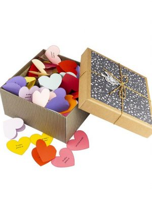 100 Motive Te Iubesc Inimă Mama, mesaje-inima, diverse modele, cadou mama, multicolor