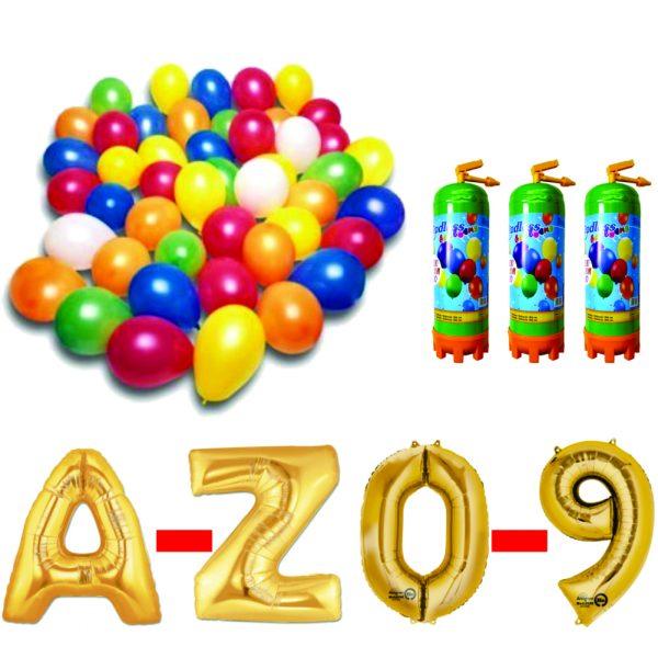 15 Pachet baloane aurii eveniment