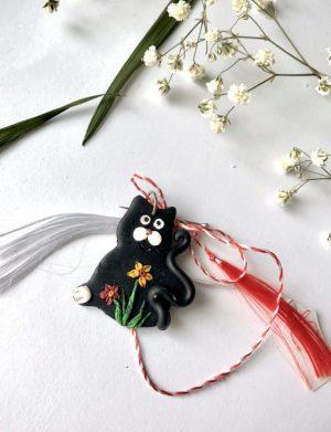 "Martisor "" Pandantiv pisica"", AHGL12764"