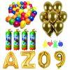 20 Pachet baloane aurii eveniment 2