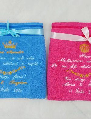 Set Halate Nasi, personalizate prin broderie cu nume si mesaj, ARBC1920
