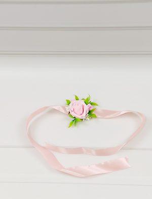 Bratara trandafir de spuma roz , invitati/domnisoare de onoare, ARBC11012