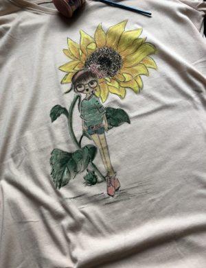 "Tricou ""SunFlower"", AHGL12951"