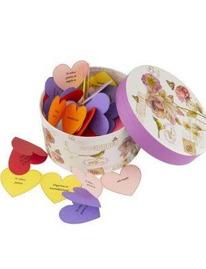 30 Motive Te Iubesc Inima Mama, mesaje-inima, diverse modele, cadou mama, multicolor – YODB1933