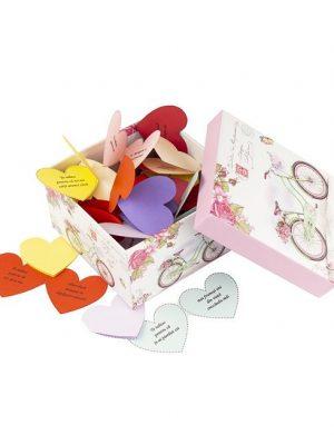 30 Motive Te Iubesc Inimă Mama, mesaje-inima, diverse modele, cadou mama, multicolor