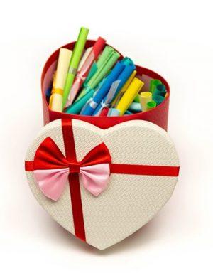 30 Motive Te Iubesc, mesaje-sul, diverse modele, cadou iubit(a), multicolor
