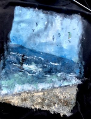 "Tricou ""Peisaj marin"""