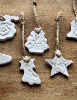 Ornamente Handmade – Mos Craciun