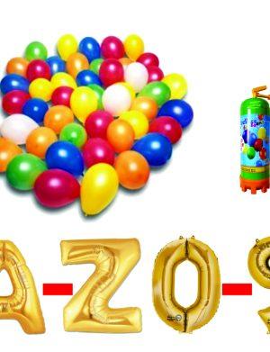 5 Pachet baloane aurii eveniment