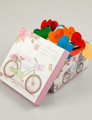 50 Motive Te Iubesc, mesaje-inimioara, diverse modele, cadou iubit(a), multicolor