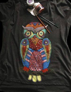 Tricou Psy Owl