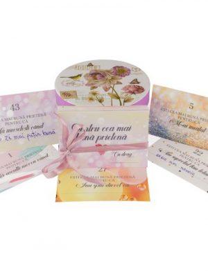 52 Motive Ești Cea Mai Bună Prietenă, mesaje si cutii in forme diferite, cadou prietena, multicolor