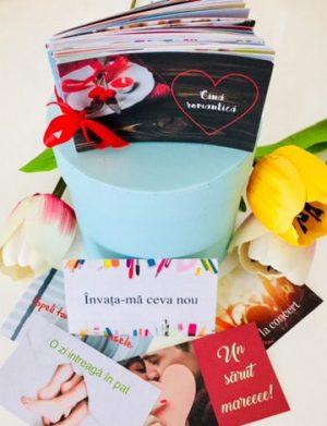 52 Reasons Love You, mesaje-cupon, cutii sub diverse modele, multicolor – YODB1956