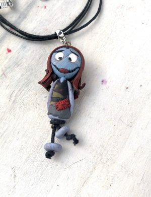 """Pandantiv handmade papusa """"BlueDoll"""", AHGL13318"""