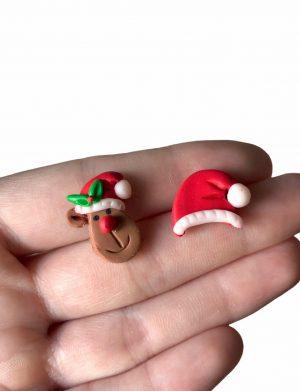 """Cercei din fimo pentru Craciun """"ChristmasParty�, AHGL13374"""