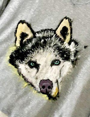 "Tricou ""Husky"""