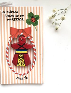 "Martisor Pictat Manual ""Etnic"", AHGL12778"