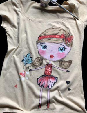 """Tricou """"CuteGirl"""", AHGL12949"""