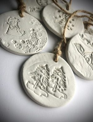 Ornamente Handmade De Craciun Poveste De Iarna