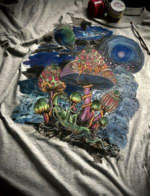 "Tricou ""Mushrooms"", AHGL12967"
