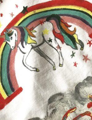 Tricou personalizat prima aniversare Unicorn – AHGL425