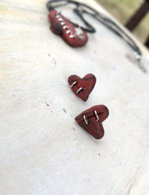 "Set Pandantiv+Cercei Handmade ""Broken"", AHGL13333"