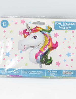 Balon din folie UNICORN, multicolor – ILIF1919