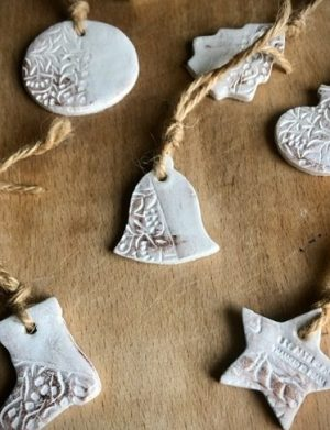 Ornamente Handmade De Craciun Cu Patina Din Bronz, AHGL12746