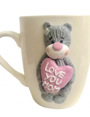 "Cana fimo ""Love You"", decorata manual, AHGL13422"