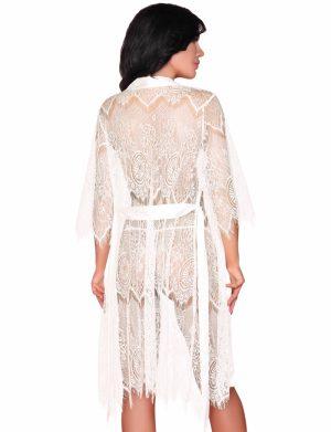 Set Reve Blanc, LivCo, alb compus din halat, rochita si chilot – LRIS193