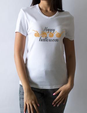 Tricou dama personalizat Halloween 4DOVLECEI – OPB1103