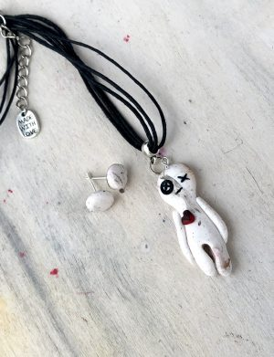 "Pandantiv handmade papusa ""Voodoo"", AHGL13341"