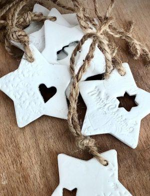 Ornamente Handmade De Craciun – Stea, AHGL12745