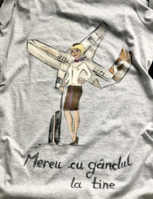 """Tricou """"Stewardesa""""2, AHGL1220"""