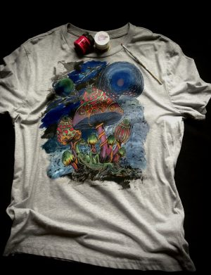 Tricou Mushrooms