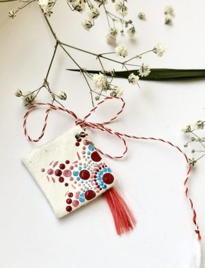 "Martisor Pictat Manual "" Mandala"" (3), AHGL12772"