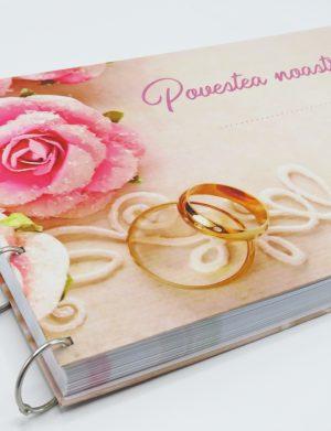 Guest Book- carte mesaje invitati, 100 file