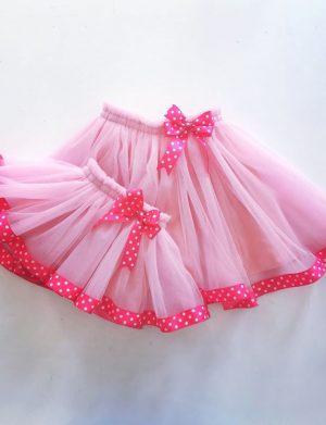 Fusta din tull roz ACC1707