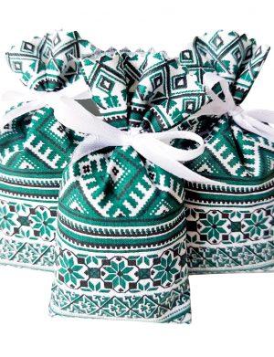 Mărturie săculeț de lavanda model traditional,AMB2603