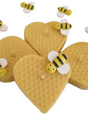Marturii lumanari din ceara de albine- handmade DM053